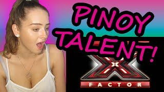 Video REACTING TO FILIPINO SINGERS THAT SHOCKED THE WORLD! X-FACTOR EDITION! MP3, 3GP, MP4, WEBM, AVI, FLV Maret 2019