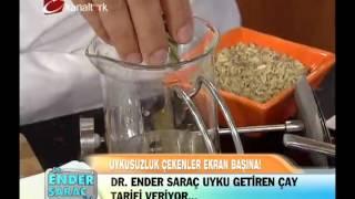 Dr. Ender Saraç - Uyku çayı Tarifi