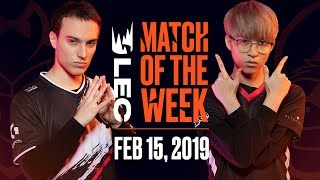 #LEC Match of the Week | G2 Esports vs Misfits | Friday 15th by League of Legends Esports