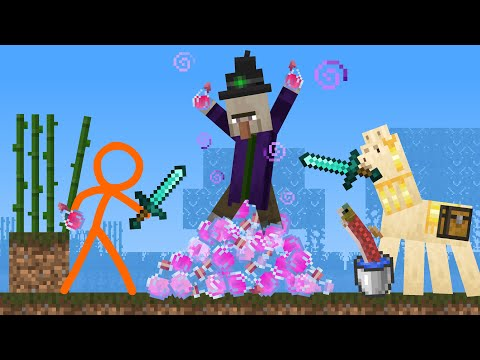 The Witch - Animation vs. Minecraft Shorts Ep 21