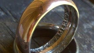 crea un anillo a partir de una moneda - YouTube