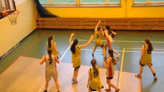 FINAŁ Powiatowy Gim. w koszykówkę dziewczyn 2016 Wojnicz