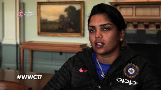 Veda and Jhulan talk about how WWC17 has enhanced the women's game