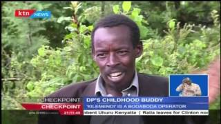 Clement, Ruto's Childhood Friend Who Is A Bodaboda Operator
