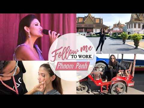 Follow Me to Work - Pnhom Penh/Beauty Pageant Host/Cindy Bishop