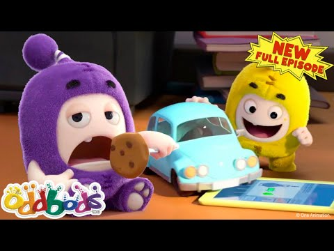 ODDBODS | Baby Oddbods On The Loose! | NEW Full EPISODE COMPILATION | Cartoons For Kids