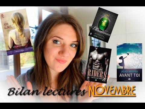 Mes lectures de novembre 2015: new adult, érotique, young adult, fantastique, romance