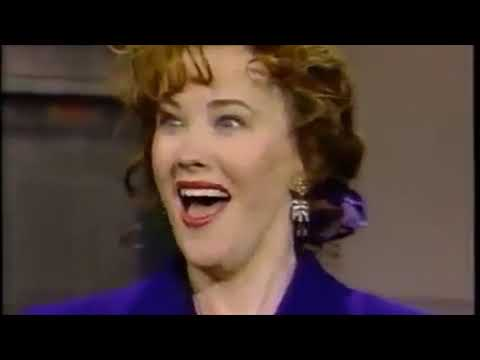 Catherine O'Hara on Letterman 1989