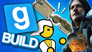 DEATH STRANDING RACE | Gmod Build | We Make Sleds For A Downhill Race