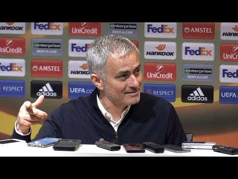 Manchester United 1-0 FC Rostov (Agg 2-1) - Jose Mourinho Full Post Match Press Conference (видео)
