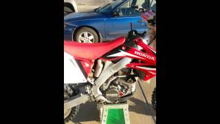 8. 2009 Honda CRF 250r for sale