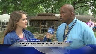 Bristol (VA) United States  city photos : Bristol, Va. community takes part in 'America's National Night Out Against Crime'
