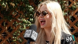 Nina Nesbitt Talks Ed Sheeran Relationship&Selfies!