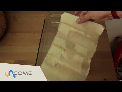 come fare una pergamena!
