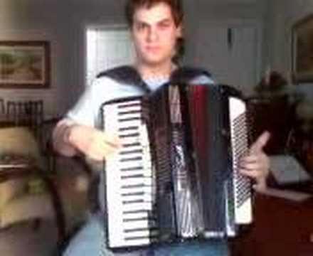 Alvinho do acordeon em Alem do Arco-Iris