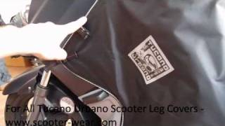 10. SCOOTER LEG COVER REVIEW AND FITTING - Tucano Urbano Termoscud - www.scooter-wear.com