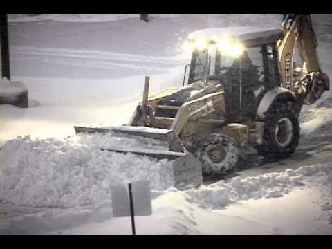 Just another Day for Cenova Snow and Ice Solutions - Philadelphia Snow Removal
