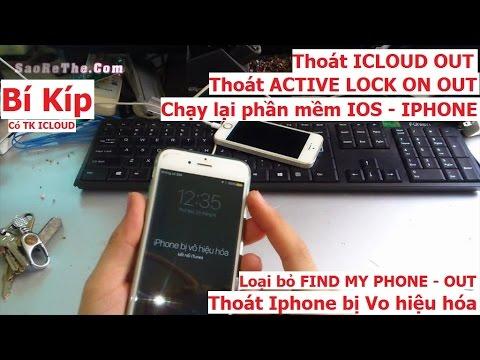 Bí kíp giúp IPHONE thoát VÔ HIỆU HOÁ, MÁY quên mật khẩu PASS CODE (cần tk icloud) - Thời lượng: 23:03.