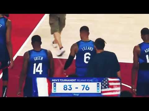 Breaking : France Defeated USA Basketball Team at Tokyo 2020 Olympics