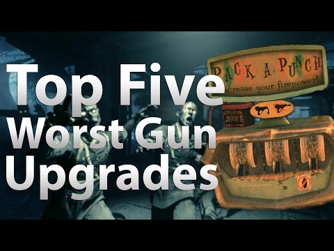 'TOP 5' Worst Guns to Pack a Punch in 'Call of Duty Zombies' -
