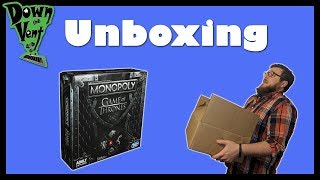 Monopoly: Game of Thrones Board Game Unboxing