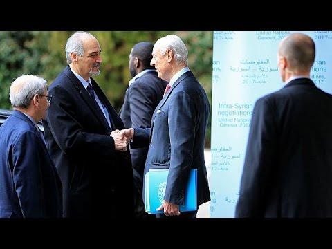 Έκκληση Ντε Μιστούρα για συνεργασιά σε συριακή κυβέρνηση και αντιπολίτευση
