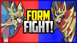 Zacian vs Zamazenta | Pokemon Form Fight (Sword & Shield) [4K] by Ace Trainer Liam