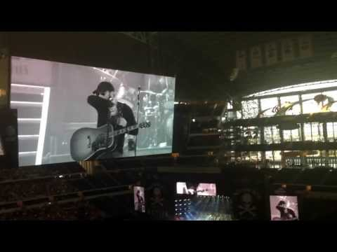 Eric church at No Shoes Nation 2013 concert tour opening for ! Cowboys Stadium Dallas