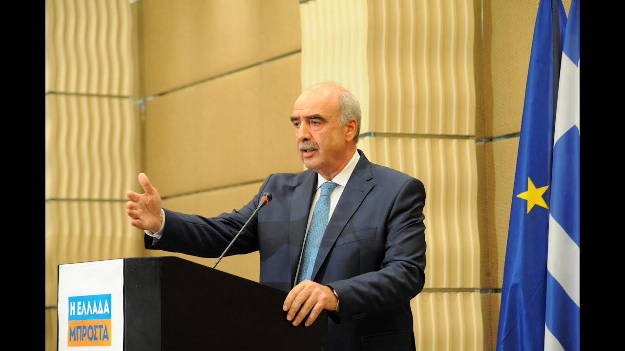Β. Μεϊμαράκης: Η θέση μας δεν είναι η ανεύρεση του αντι αλλά η θετική πρόταση