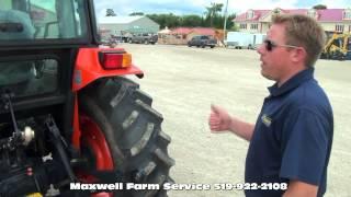 9. Kioti DK55 model Line up Maxwell Farm Service
