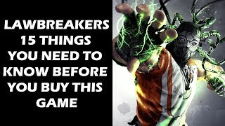 The more we see of LawBreakers, the more we cannot wait to get our hands on it. It looks like an incredibly enjoyable hero shooter with some great mechanics, and the fact that its development team is being led by none other Cliff Bleszinski of Gears of War fame only serves to make us even more confident that the game will be excellent. In order to share with you just why we're feeling so good about this game, in this feature, we're going to list out fifteen things about the game that we feel you should know too, fifteen things that will surely get you pumped for LawBreakers if you aren't already.SUBSCRIBE FOR MORE VIDEOS: https://www.youtube.com/user/GamingBoltLiveLIKE US ON FACEBOOK:https://www.facebook.com/GamingBolt-Get-a-Bolt-of-Gaming-Now-241308979564/?fref=tsFOLLOW US ON TWITTER:https://twitter.com/GamingBoltTweet