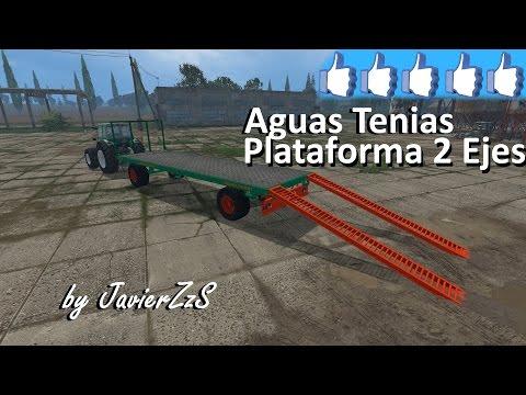 Aguas Tenias  Platform 2 Axis v2.0