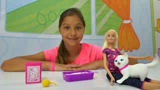 Video Barbie ve kedi bakımı oyunu. Polen'le kız oyuncakları. Barbie kutusu açma MP3, 3GP, MP4, WEBM, AVI, FLV November 2017