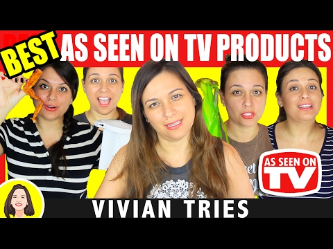 BEST AS SEEN ON TV PRODUCTS REVIEW #2 | VIVIAN TRIES