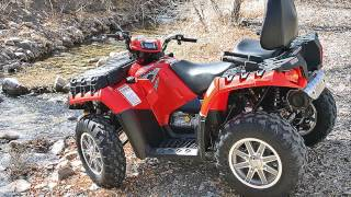 4. polaris sportsman 550 eps