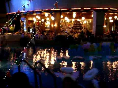 New Years Eve 2010 Gala Dinner at A-One Hotel-Pattaya, Thailand