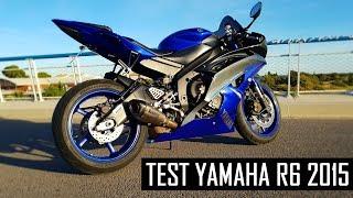 10. TEST YAMAHA YZF R6 2015 135CH | Une moto folle! 😈