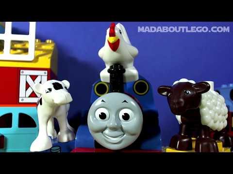 Vidéo LEGO Duplo 10617 : Ma première ferme