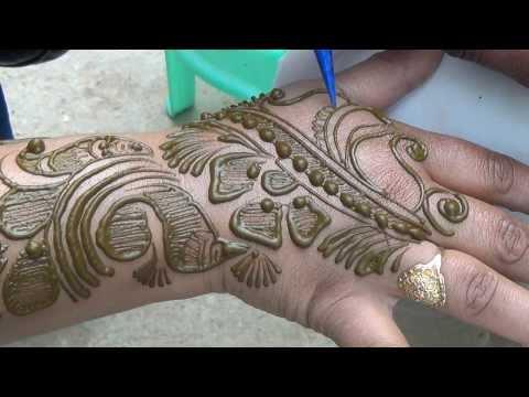 Mehndi Diya Design : Henna designs