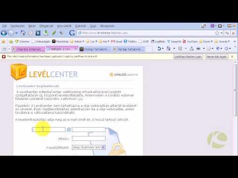 Webmail elérése