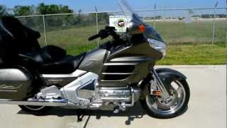 8. 2008 Honda GL1800 1800 Goldwing Overview Review Walk Around