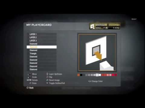 Call of Duty: Black Ops Emblem Tutorial #4 | Connection Interrupted Emblem
