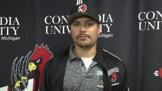 CUAA Baseball Coach Johnston  thumbnail