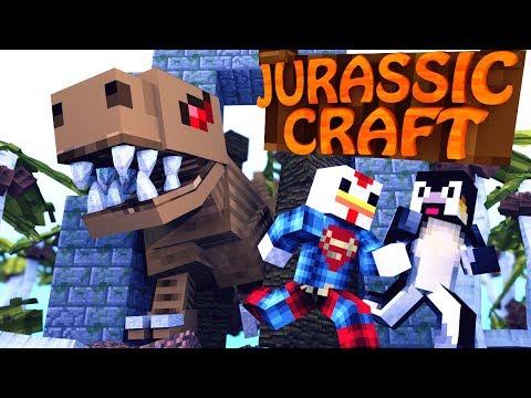 Minecraft | Jurassic Craft - Dinosaurs Ep 1