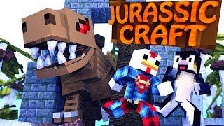 Minecraft  Jurassic Craft  Dinosaurs Ep 1 SAVING JURASSIC PARK