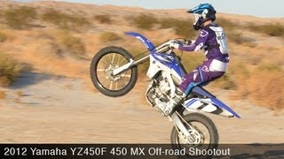 2. MotoUSA 450 MX Off-Road Shootout:  2012 Yamaha YZ450F