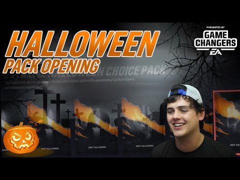 HALLOWEEN CHOICE PACKS W/ NASTY PULLS!!! | NHL 19 PACK OPENING