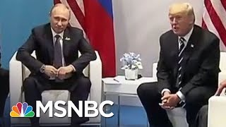 Ian Bremmer, political scientist and president of The Eurasia Group, talks with Rachel Maddow about the revelation of an undisclosed second encounter ...