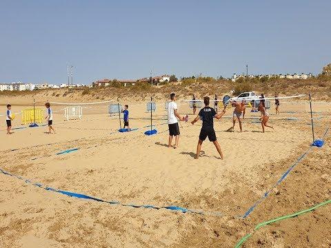 I Torneo de Badminton Playa Ciudad de Isla Cristina.