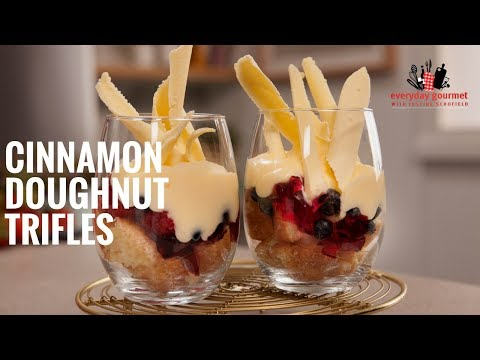 Cadbury Cinnamon Doughnut Trifles | Everyday Gourmet S6 E20